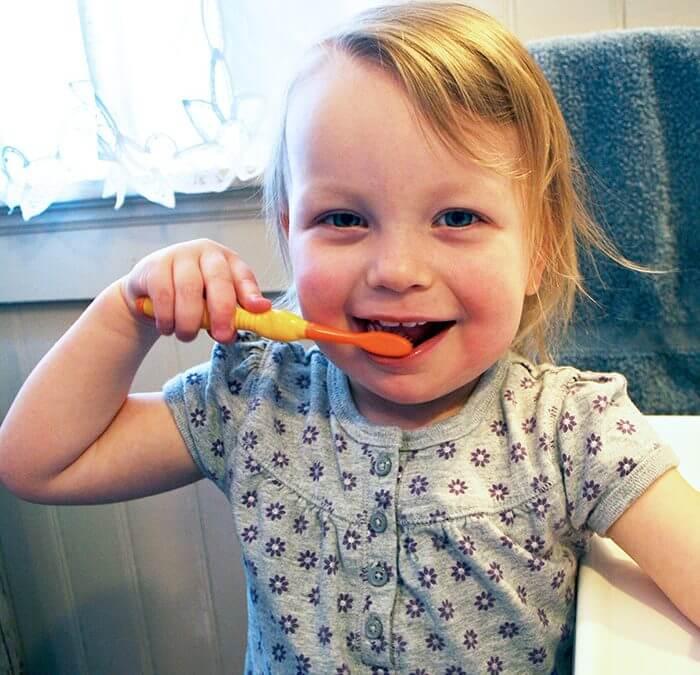 hábitos dentales para niños
